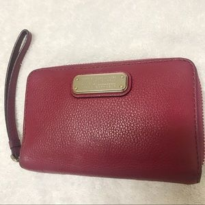 Red Marc Jacobs wristlet